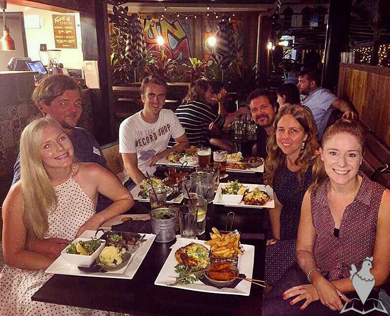 Meg, Nathan, Andrew, Ben, Sarah and Daniella