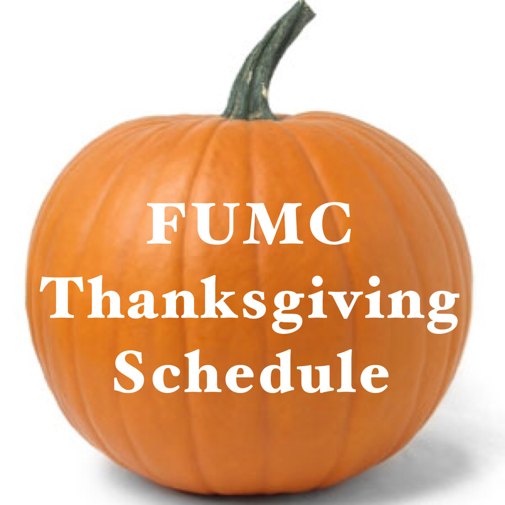 Thanksgiving Schedule Pumpkin.JPG