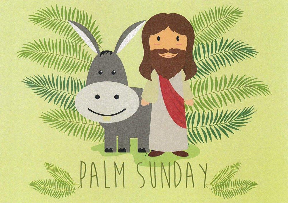 Jesus and his friend Mr Donkey.jpg
