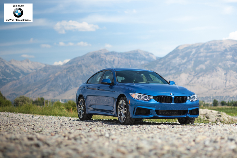 The BMW 4 Series Gran Coupe - 2015