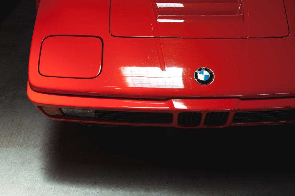 1980 BMW M1 at Fantasy Junction, Emeryville, CA