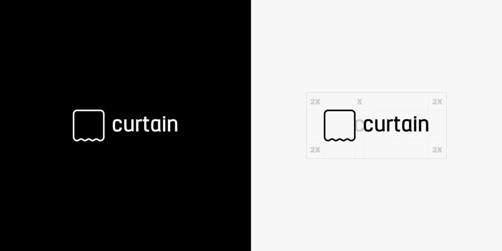 Curtain Logo (Horizontal option)