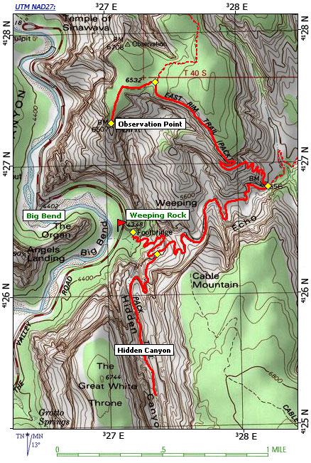 Trail map from citrusmilo.com