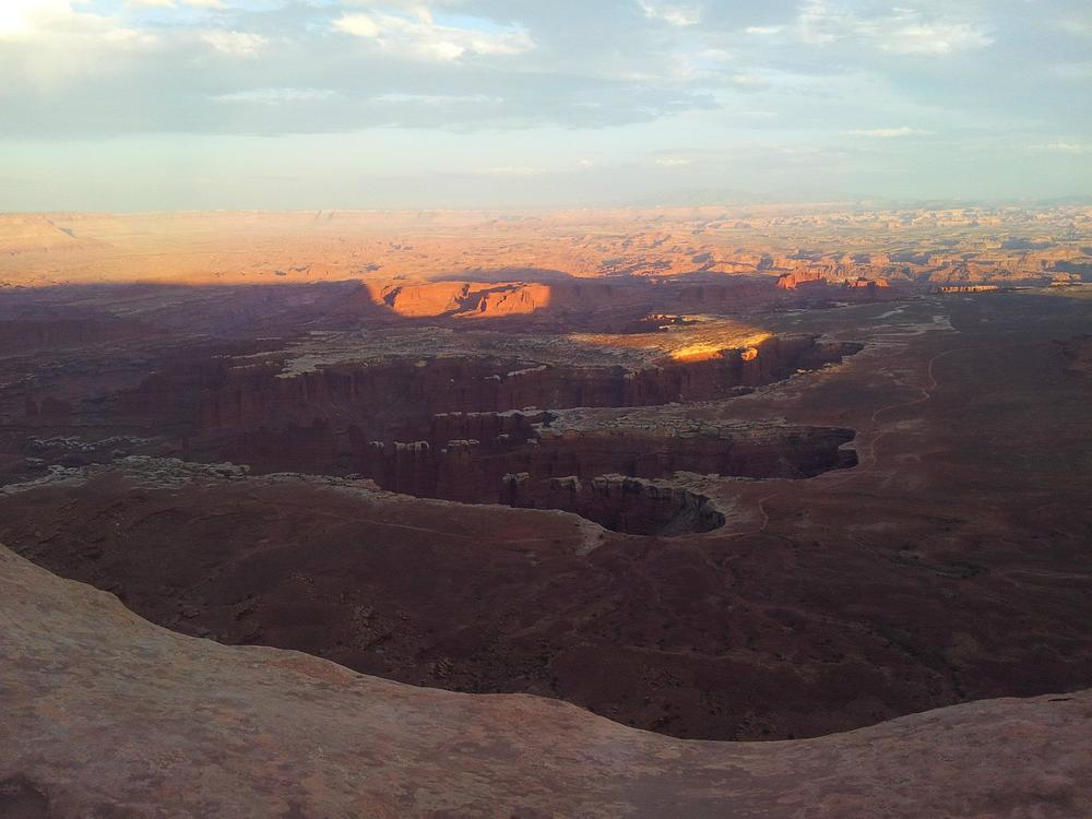 View of the White Rim Trail