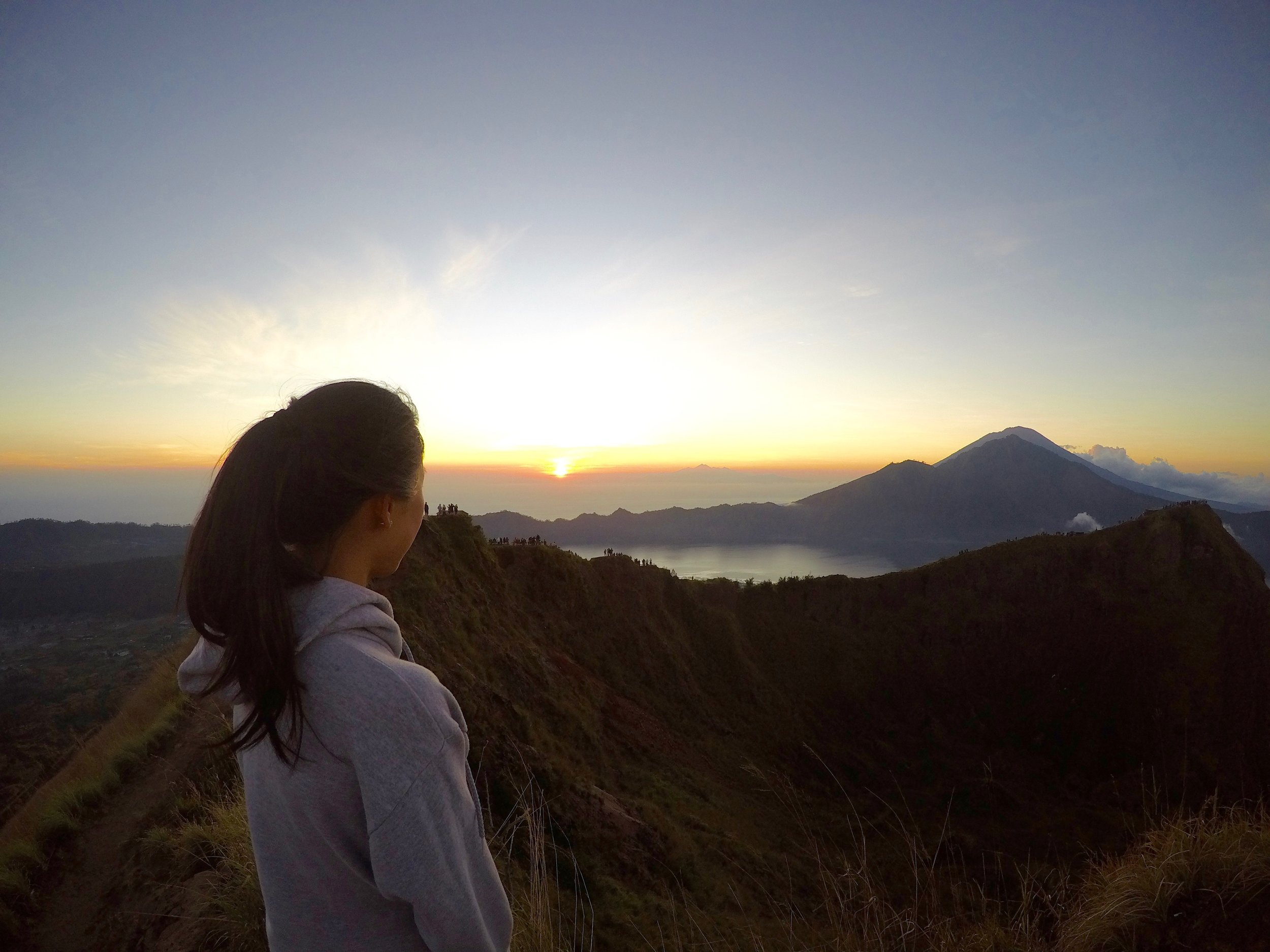 Mt Batur Sunrise Volcano Hike Bali Indonesia