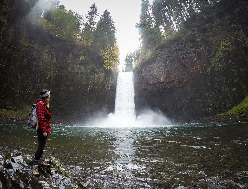 Gorgeous Abiqua falls!