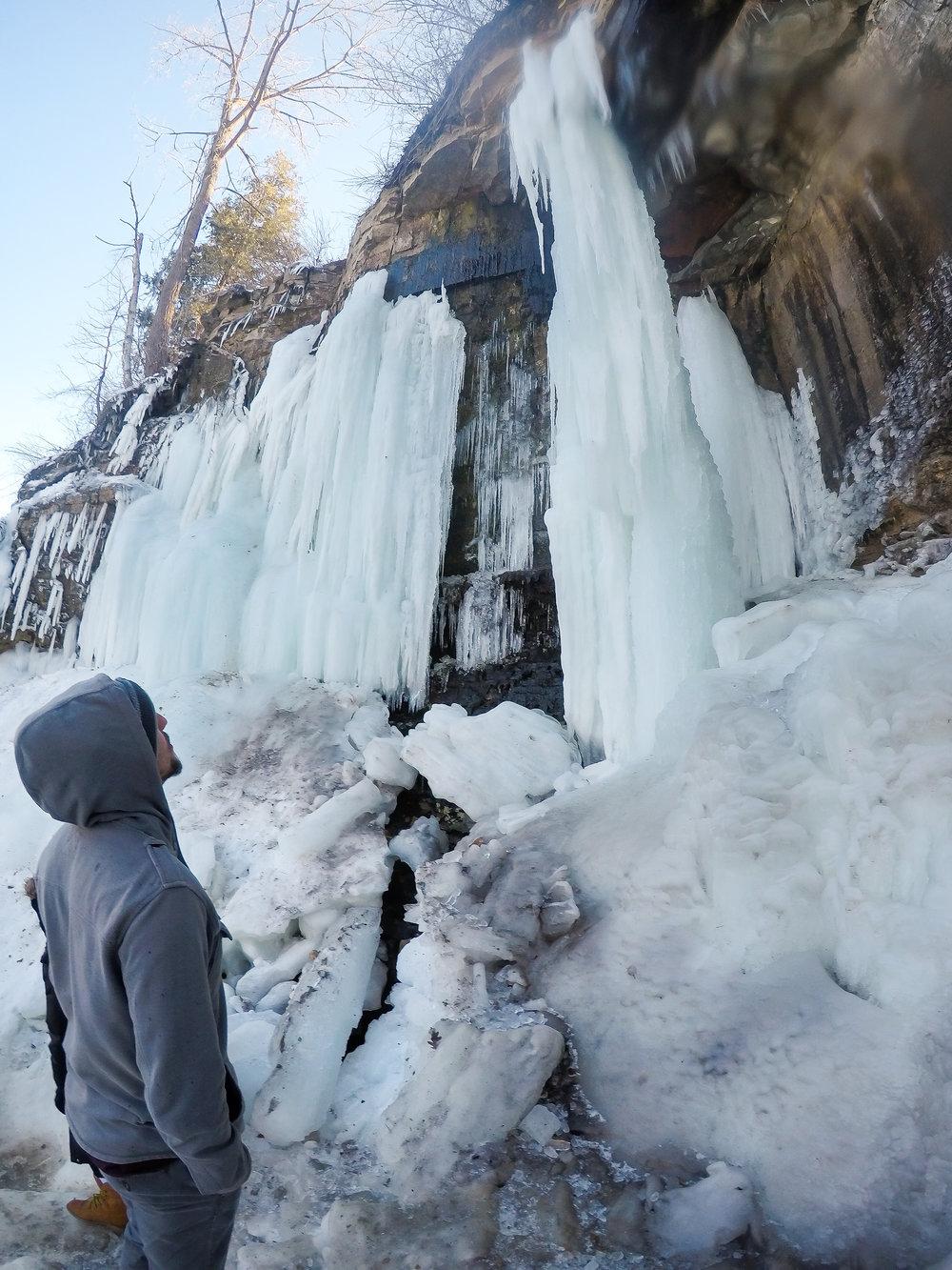 Impressive icicles