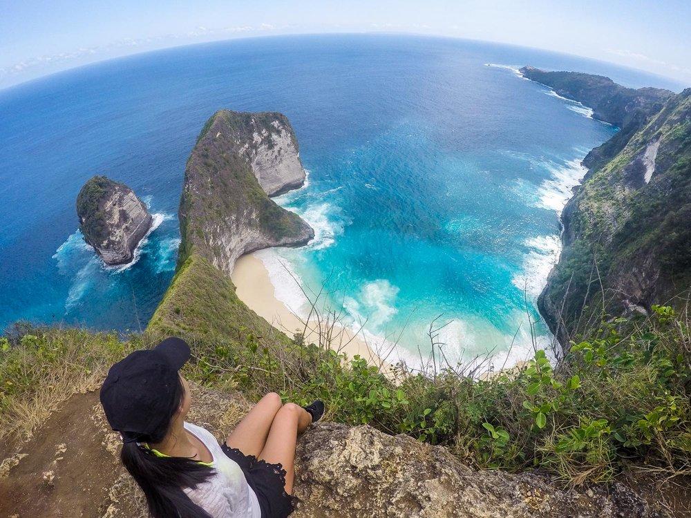 Looking out over the peninsula (Karang Dawa)