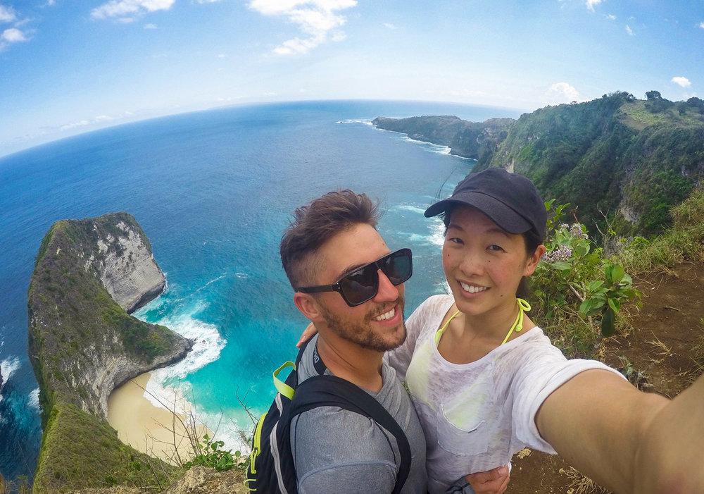 Kelingking Cliff on Nusa Penida