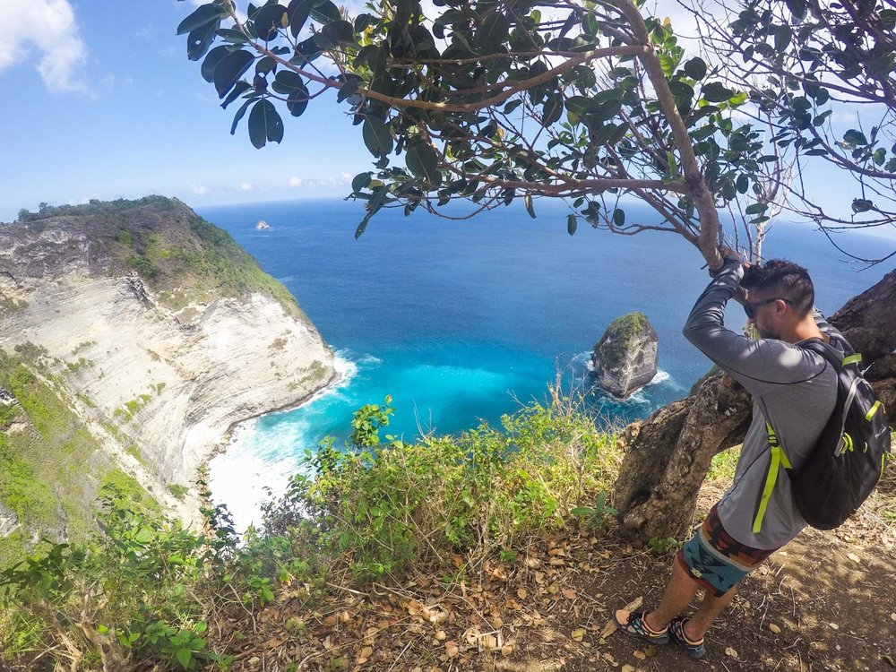 Kelingking Cliff Ocean View on Nusa Penida