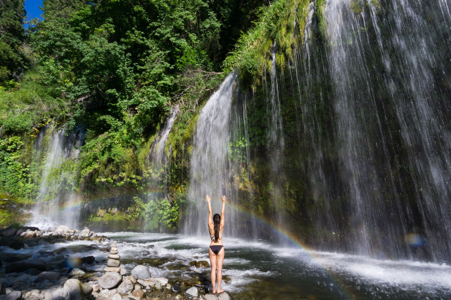 Mt Shasta Ca >> Mossbrae Falls Hike — Mt. Shasta, CA — Backcountrycow | Backpacking and Outdoor Travel