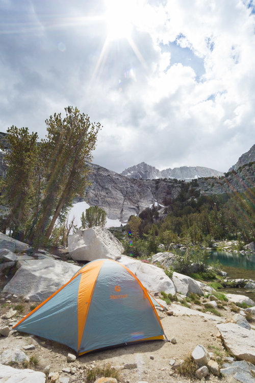 Backpacking Little Lakes Valley to Gem Lakes — Bishop, CA