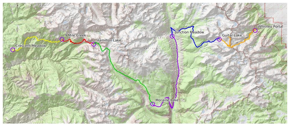 backpacking-high-sierra-trail-map-6-days