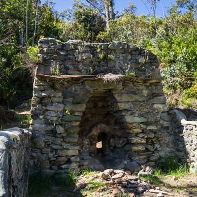 An old lime kiln
