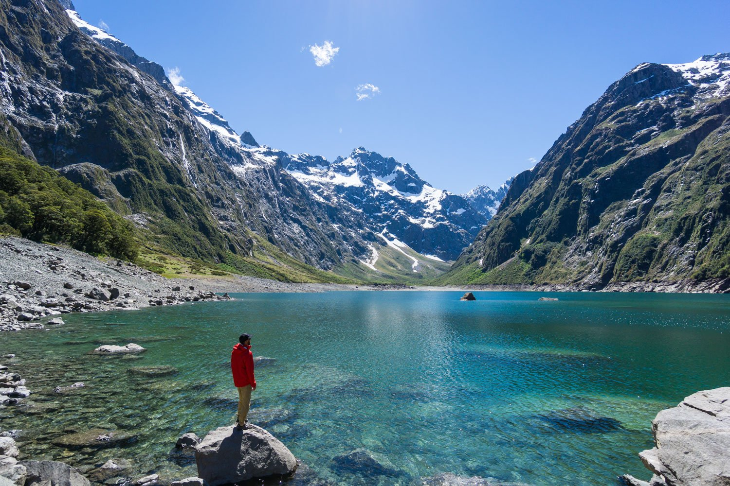 Lake Marian Hike Fiordland National Park New Zealand