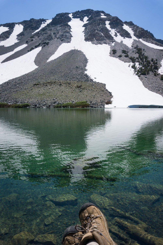Barney Lake reflections
