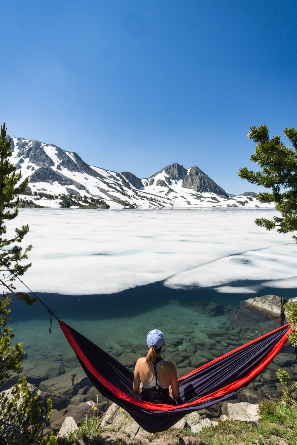 Backpacking necessities.. a hammock!