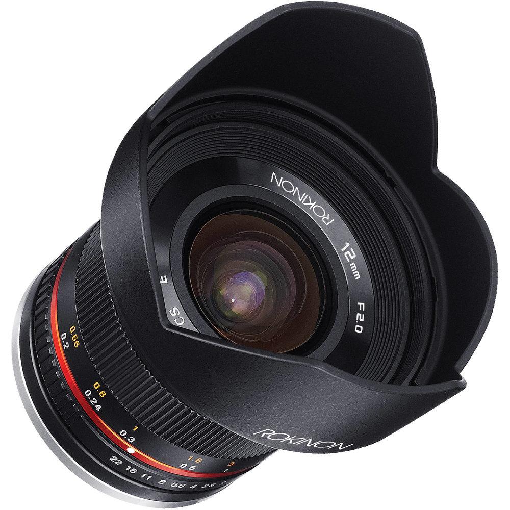 Ultra wide lens