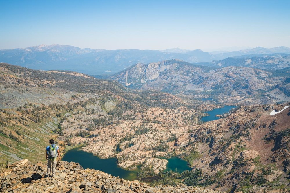 Climbing Dick's Peak in Desolation Wilderness