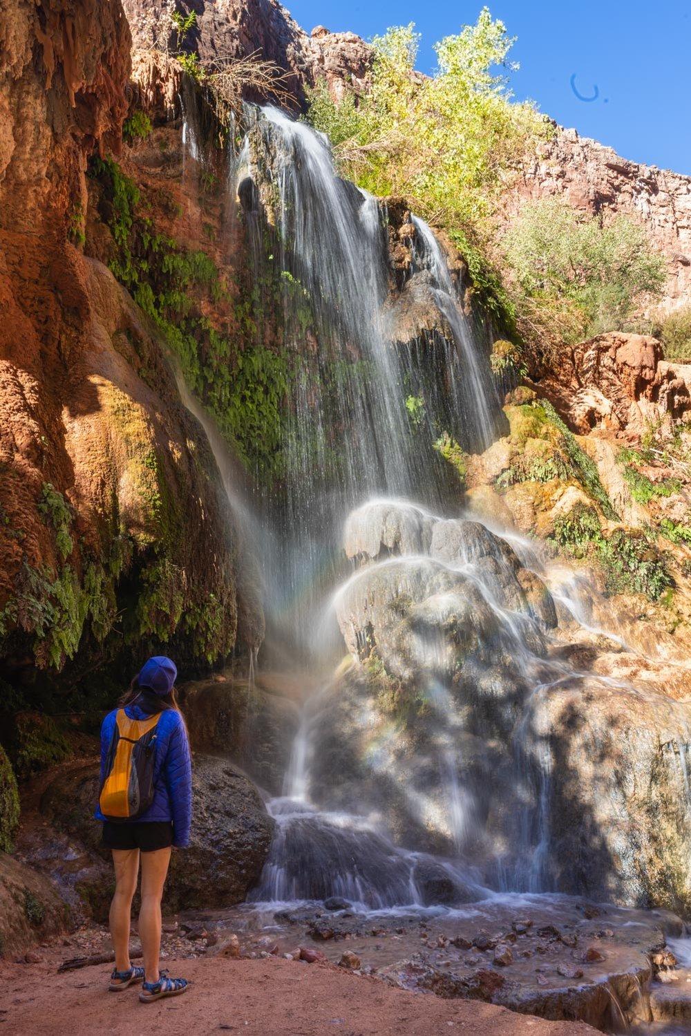 Discovering a mini waterfall