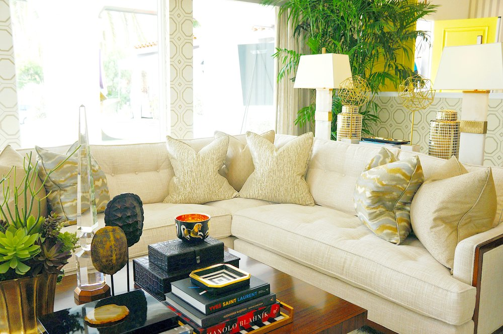Living Room. Design by Barclay Butera.