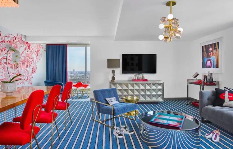 The Andaz, West Hollywood via Curbed LA