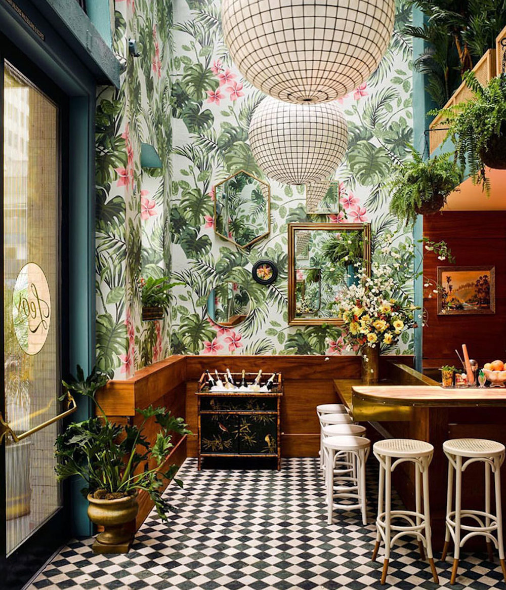Leo's Oyster Bar via  Architectural Digest