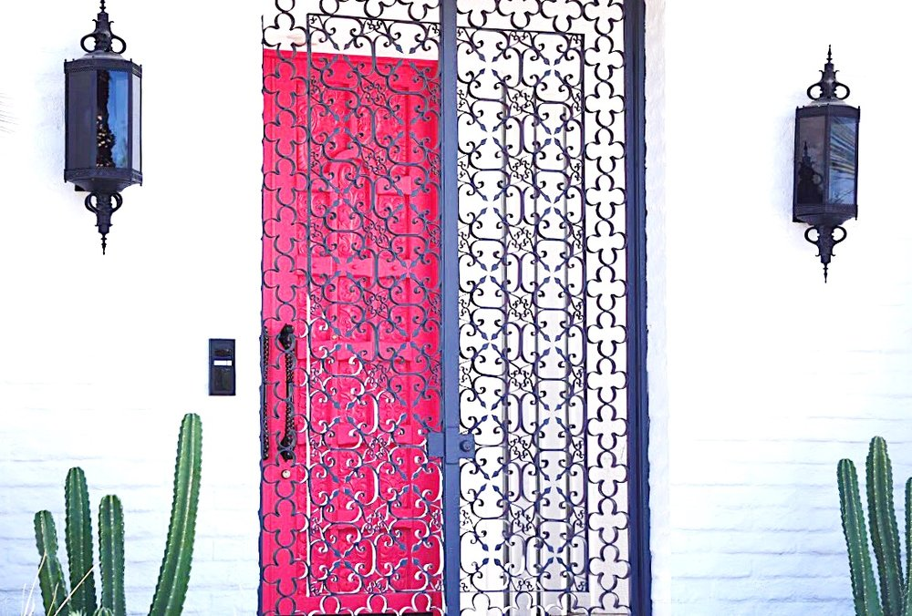 That New Pink Door Palm Springs