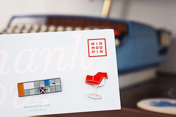 Holiday Gifts For Design Lovers Mid Mod Pin