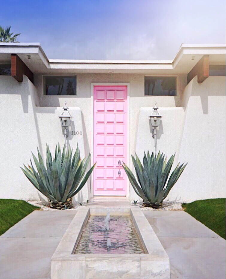 That Pink Door Palm Springs Modernism Week