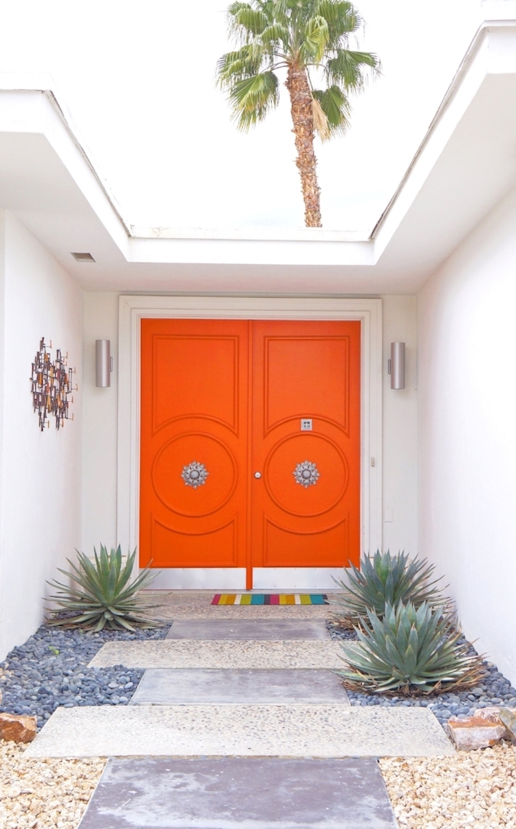 Orange Door Palm Springs