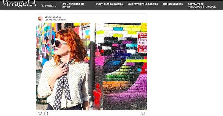 Influencer VoyageLA Marni Epstein-Mervis