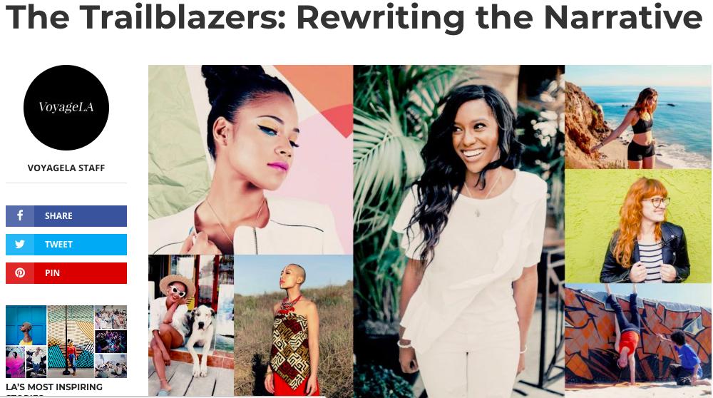 Voyage LA Trailblazing women entrepreneurs