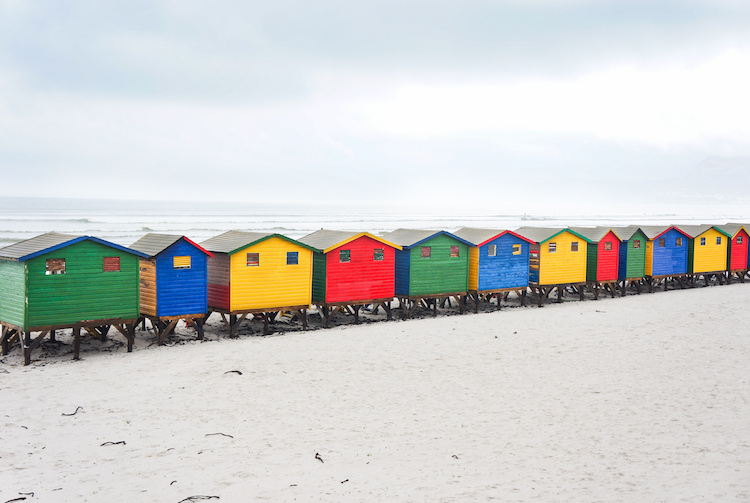 Muizenburg Beach Cape Town