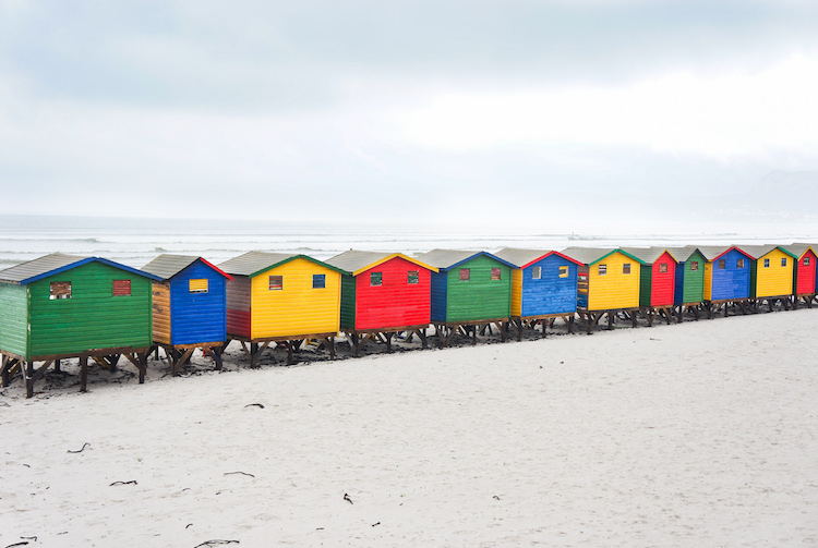 Cape Town muizenburg beach