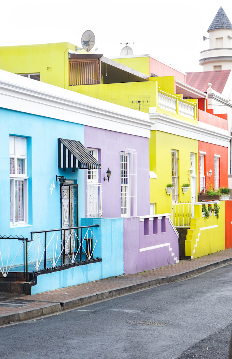 Bo Kaap Colorful Houses
