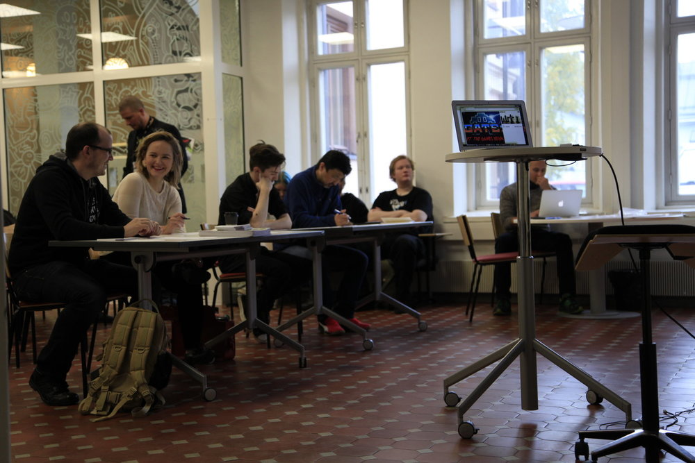We had an awesome Jury made out of Chris, Mitsutaka Mitch Yasuda, Anne Ryynänen, Ville Autio and Martin Jaššo.