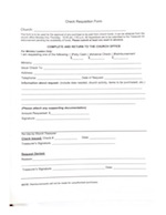 Check Requisition Form