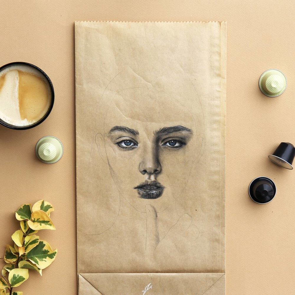 Coffee Bag Illustration