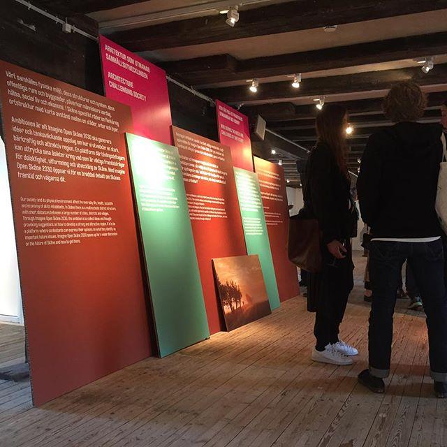 Alla intressanta bidrag till idétävlingen Imagine Open Skåne 2030 visas nu på Form/Design Center till och med 14 juni. Testbedstudio har gjort utställningen och grafiken.