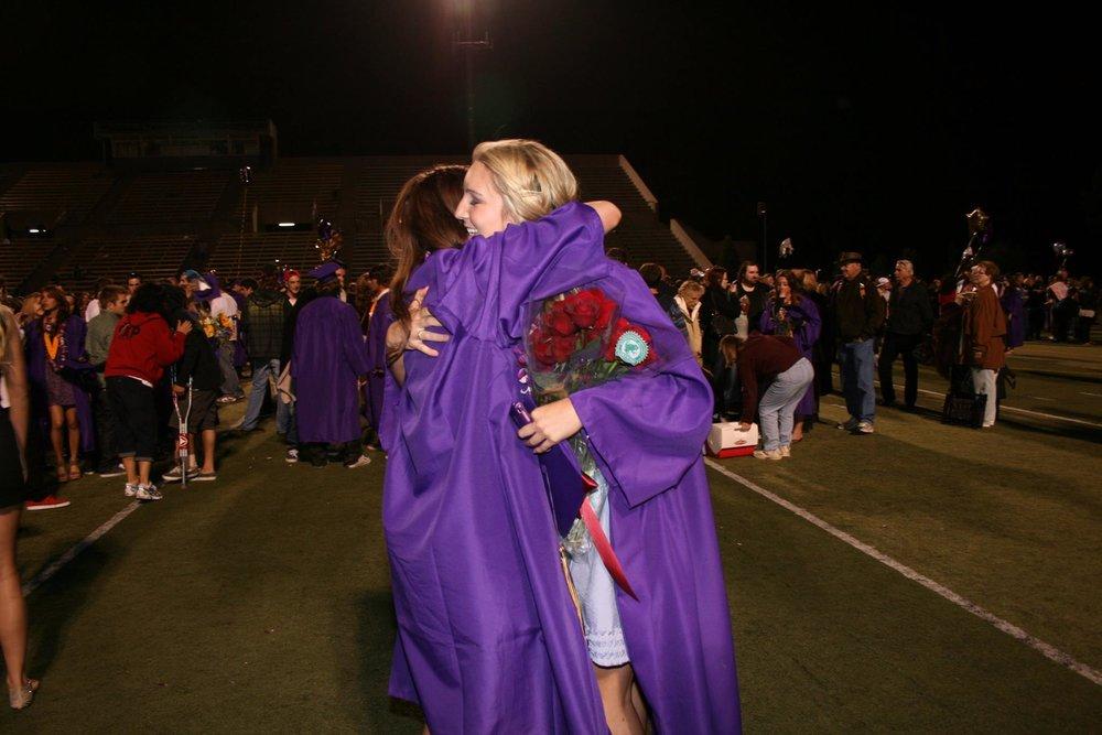 Our high school graduation