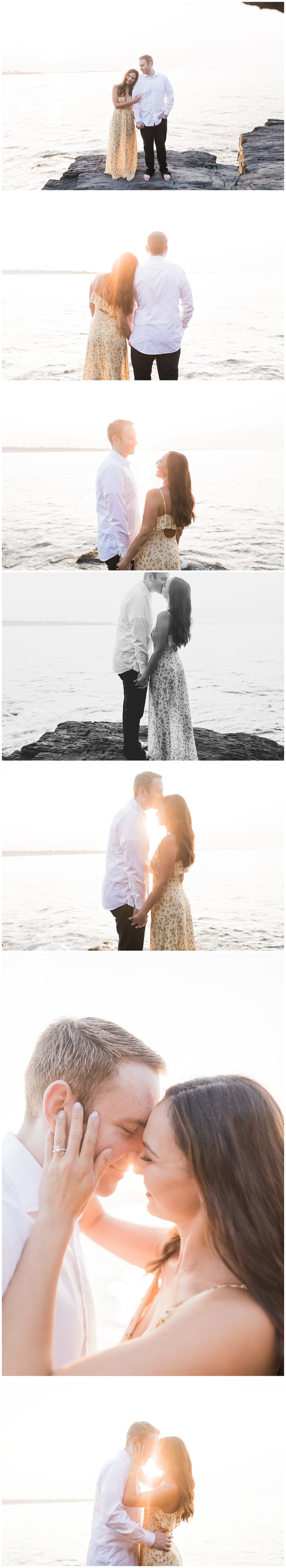 Newport Rhode Island | Engagement Session | Forty Steps