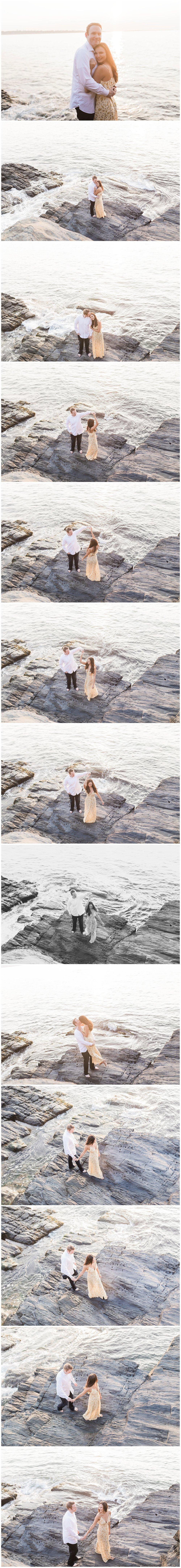 Rhode Island Engagement Photos