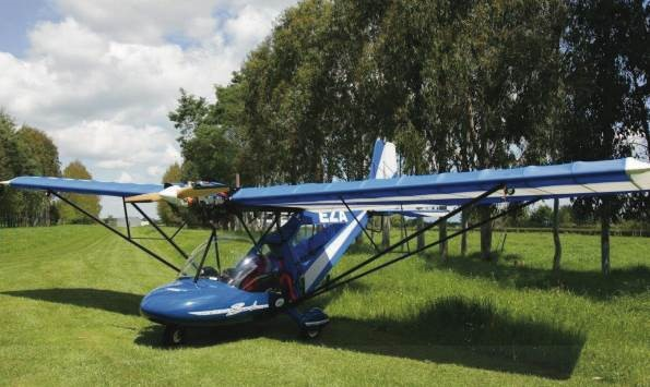 Bantam Aircraft that will be used by the College