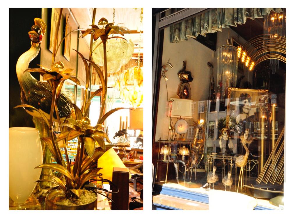 Lamp is van Maison Jansen.