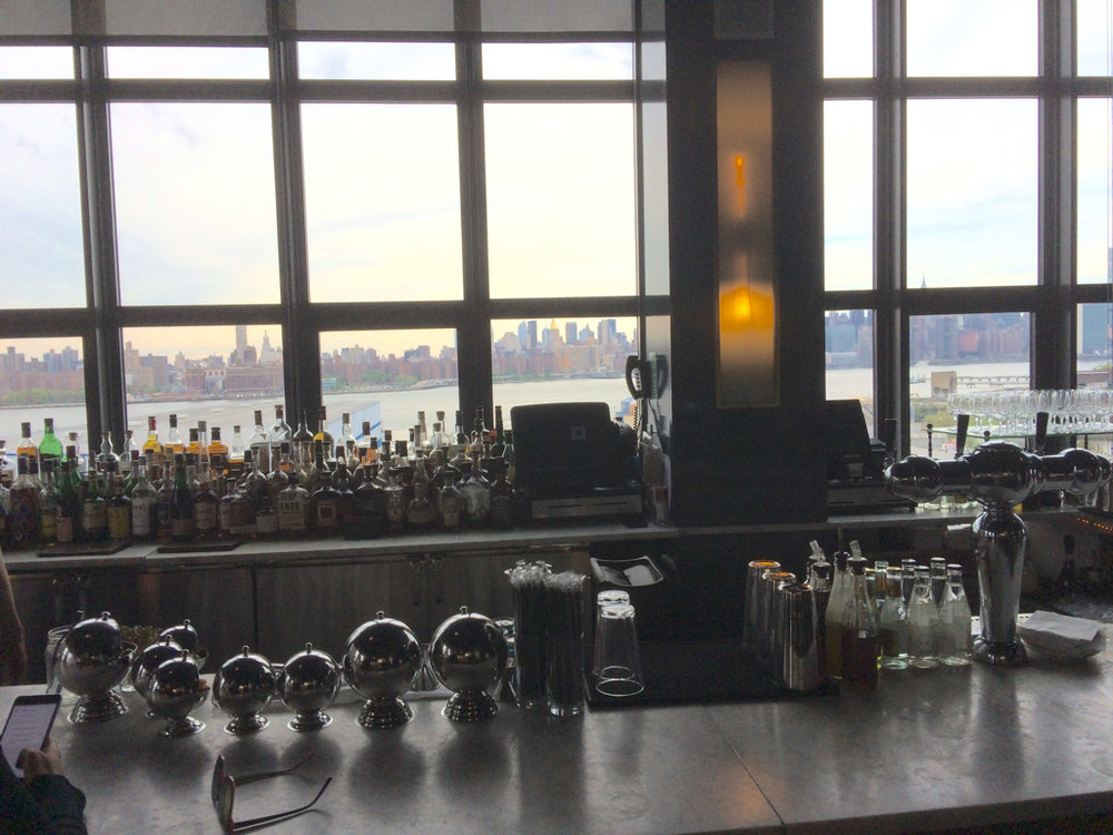 Bar with a view!