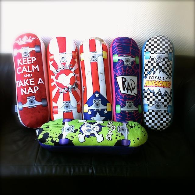 Die Skateboardkissen von BOARD PILLOWS! Jetzt bei uns erhältlich!