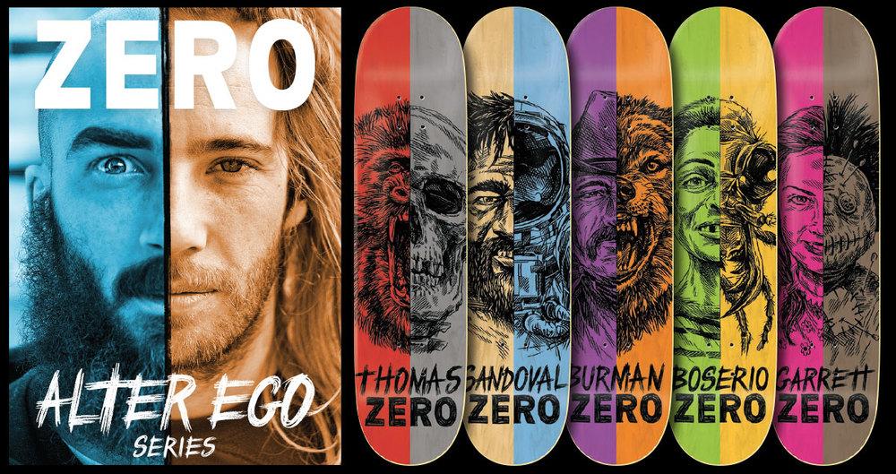 Zero Skateboards - Alter Ego Serie