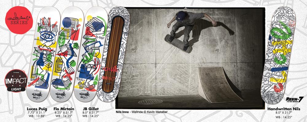 Cliché Skateboards - Nils Serie