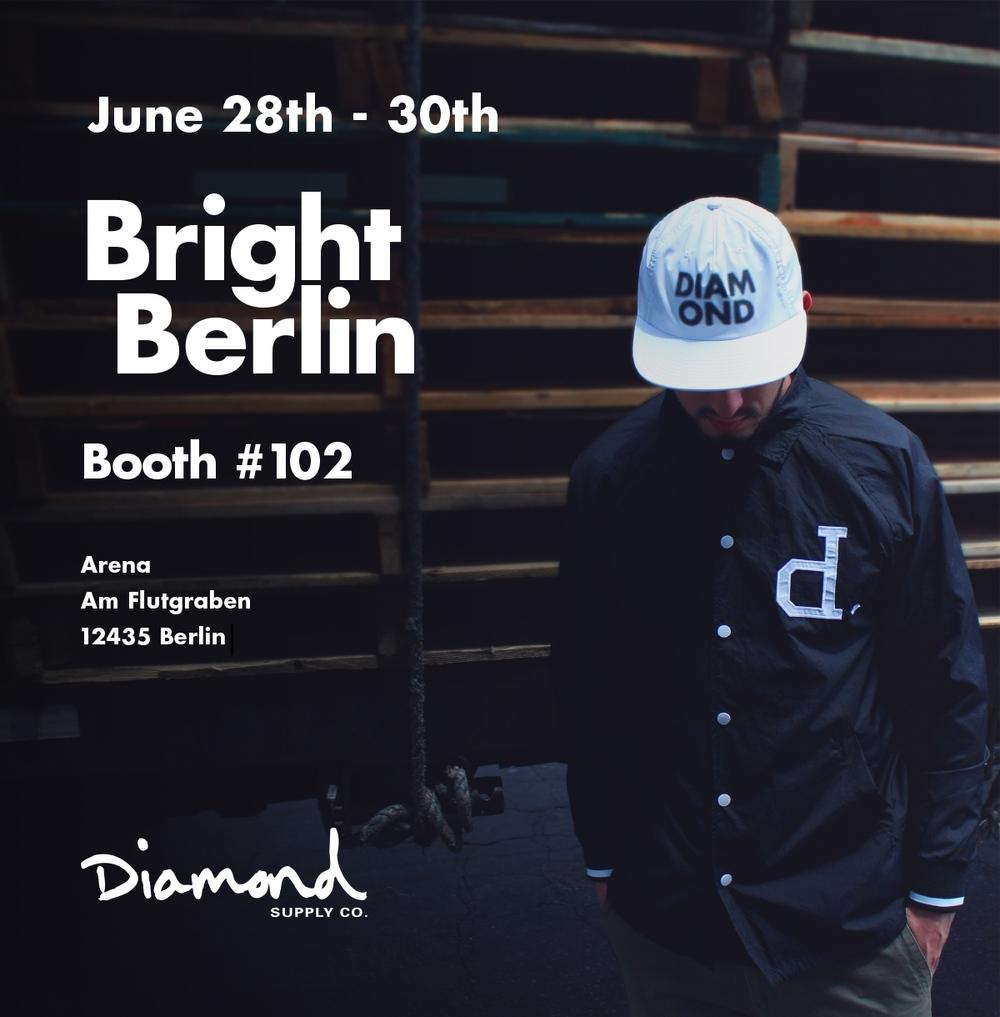 Diamond Supply Co. auf der Bright Messe in Berlin